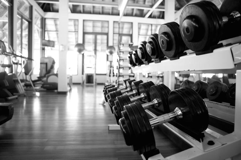 Rubberized Gym Floor